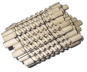 Деревянные бигуди-спиральки