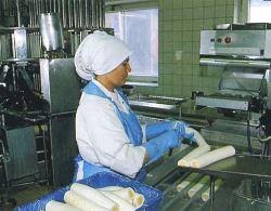 Производство длинных яиц