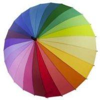 Яркие дизайнерские зонты с любыми рисунками на заказ
