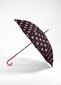 Зонт горошек