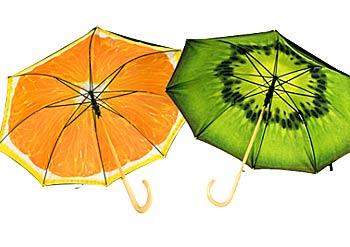 Зонт киви апельсин